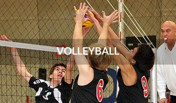 Volleyball Navigation Button