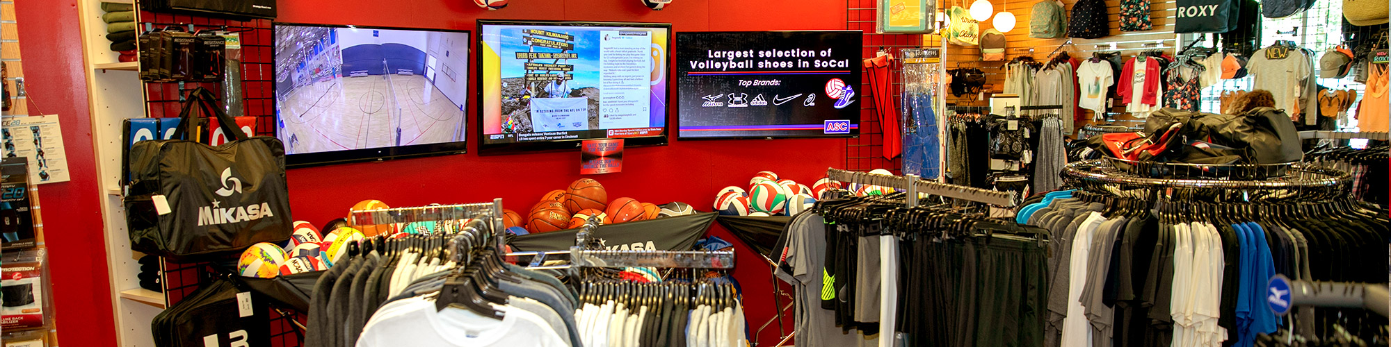 American Sports Centers, Anaheim, Store
